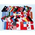 アクリル万国旗20カ国(34×43cm)