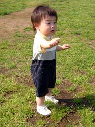 こうしん君(1歳2か月)
