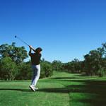 ゴルフなどのスポーツに