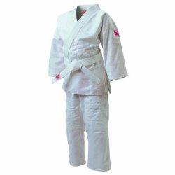 画像1: 《九櫻》「さくら」女子用一重織柔道衣(背継仕上)