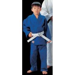 画像1: 《九櫻》一重織ブルー柔道衣