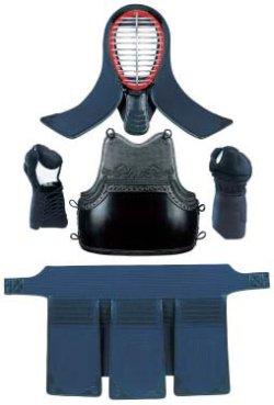 画像1: 《九櫻》剣道防具 高校・一般向 ミシン刺