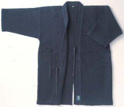画像1: 《九櫻》蜂巣織剣道衣(紺)