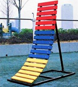 画像1: 3色逆上り補助器(支柱1本)