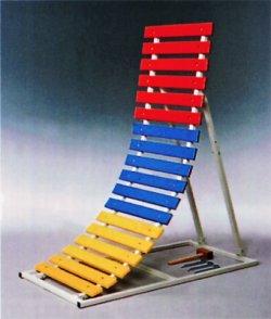 画像1: 3色逆上り補助器(支柱2本)